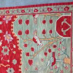 Detail of rug without border